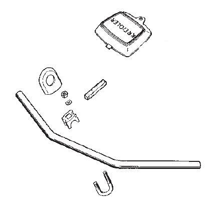 Kreidler Handlebar and Attachment Parts