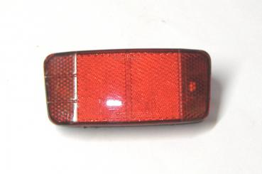 Reflector for luggage carrier