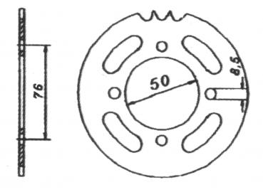 Chain Wheel 35 teeth