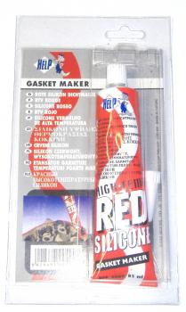 Silicone sealant red