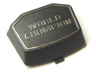 "Decorative cover ""WORLD CHAMPION"""