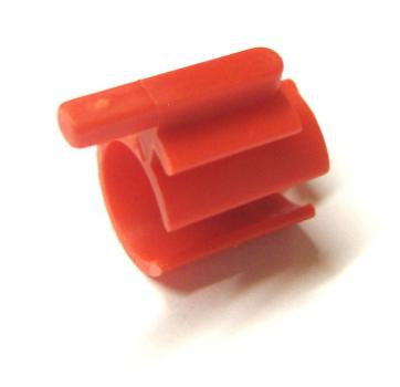 Fixing bush, red