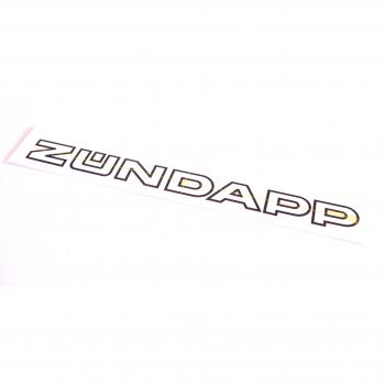 "Sticker ""ZÜNDAPP"""