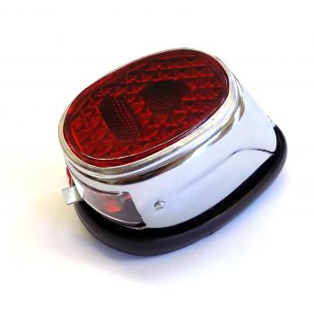 Rear light Puch, chrome-plated