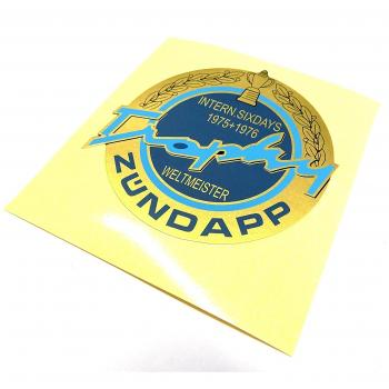 Sticker Zündapp Trophy
