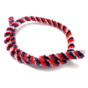 Hub cleaning ring moped, red / white / blue