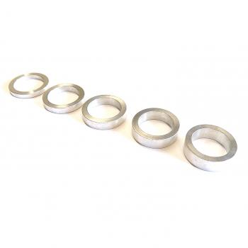 Spacer ring set Ø 21,1 x 27