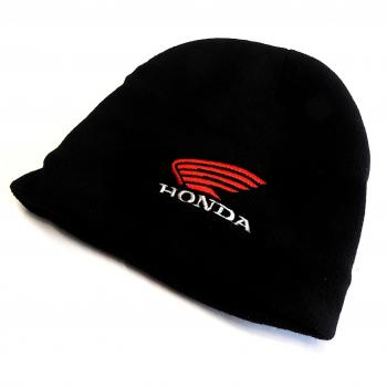 wool cap HONDA black