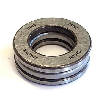 Axial deep groove ball bearing 51102, 15 x 28 x 9 mm