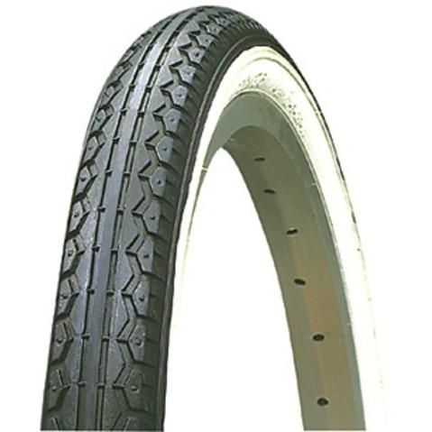 Kenda K123 Whitewall Bicycle Tire 20 x 1.75
