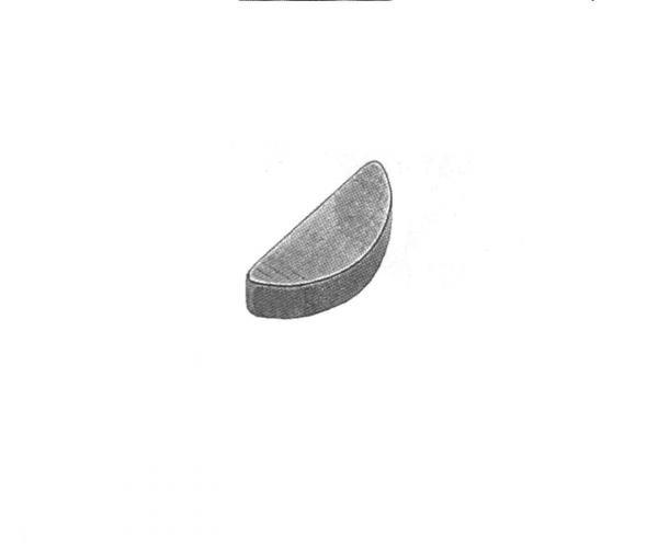 Scheibenfeder 2x2,6 DIN 6888